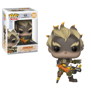 Funko Pop! Games - Overwatch #308 - Junkrat - Simply Toys