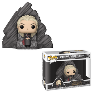 Funko Pop! Television - Game of Thrones #63 - Daenerys Targaryen (Dragonstone Throne) - Simply Toys