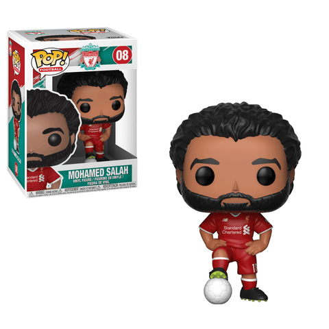 Funko Pop! Sports - Football: Liverpool #08 - Mohamed Salah - Simply Toys