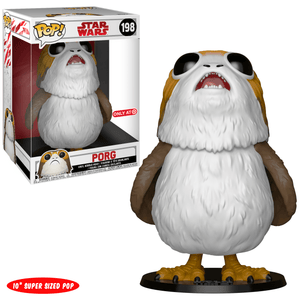 Funko Pop! Movies - Star Wars: Episode VIII - The Last Jedi #198 - Porg (10 inch) (Exclusive) - Simply Toys