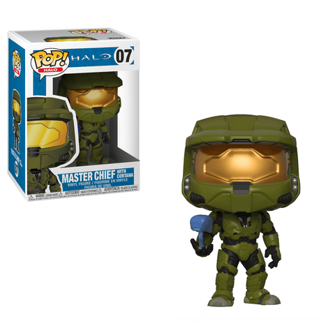 Funko Pop! Games - Halo #07 - Master Chief (with Cortana) - Simply Toys