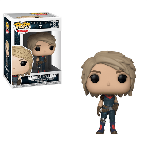 Funko Pop! Games - Destiny #338 - Amanda Holiday - Simply Toys