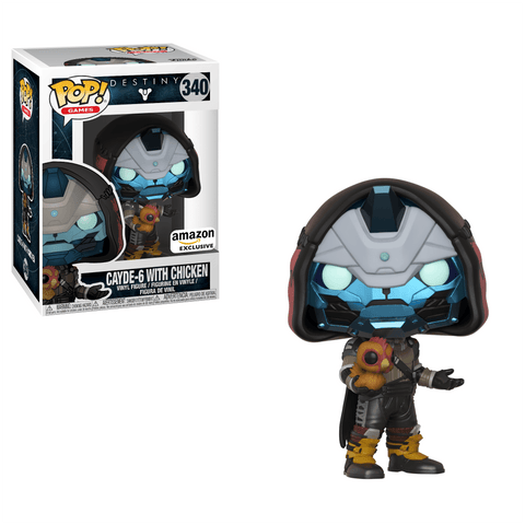 Funko Pop! Games - Destiny #340 - Cayde-6 (with Chicken) (Exclusive) - Simply Toys