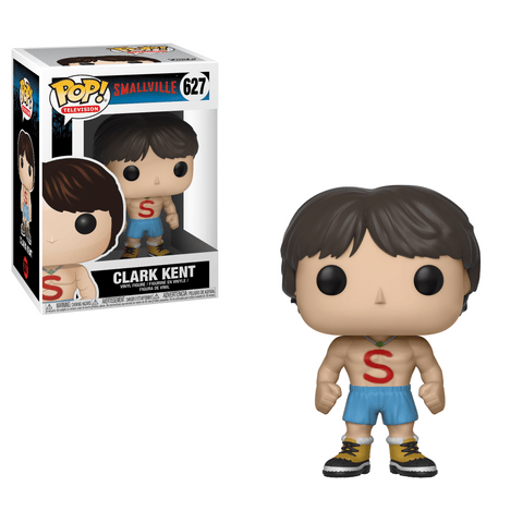 Funko Pop! Television - Smallville #627 - Clark Kent (Shirtless) *VAULTED* - Simply Toys