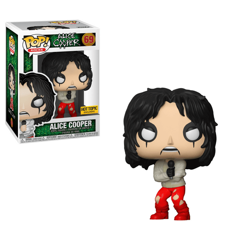 Funko Pop! Rocks - Alice Cooper #69 - Alice Cooper (in Straightjacket) (Exclusive) - Simply Toys