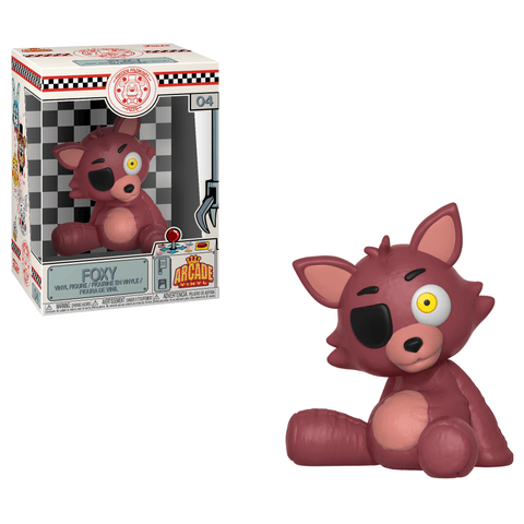 Funko Pop! Games - Five Nights at Freddy's Arcade Vinyl #4 - Foxy Pirate - Simply Toys