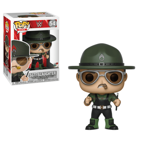 Funko Pop! Sports - WWE #54 - Sgt. Slaughter - Simply Toys