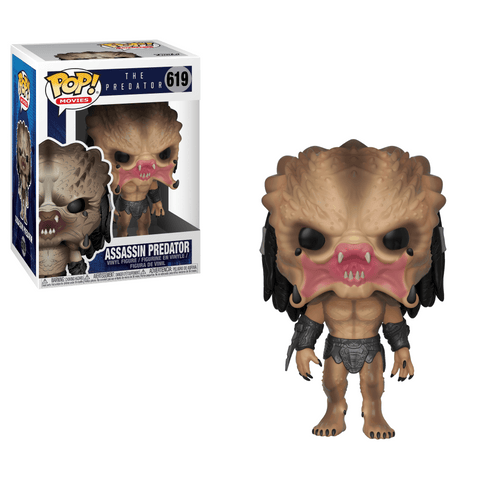 Funko Pop! Movies - The Predator #619 - Assassin Predator - Simply Toys