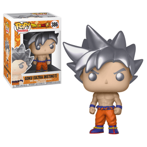 Funko Pop! Animation - Dragonball Super #386 - Goku (Ultra Instinct Form) - Simply Toys