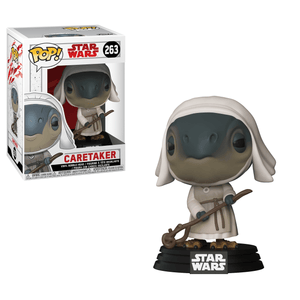 Funko Pop! Movies - Star Wars: Episode VIII - The Last Jedi #263 - Caretaker - Simply Toys