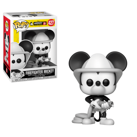 Funko Pop! Animation - Mickey The True Original 90 Years #427 - Firefighter Mickey - Simply Toys