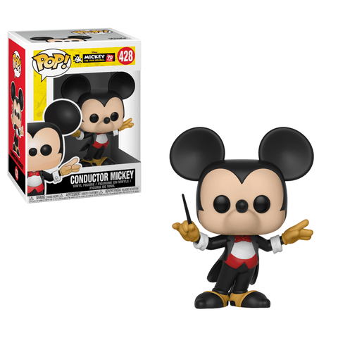 Funko Pop! Animation - Mickey The True Original 90 Years #428 - Conductor Mickey - Simply Toys