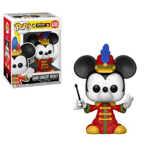 Funko Pop! Animation - Mickey The True Original 90 Years #430 - Band Concert Mickey - Simply Toys