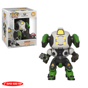 Funko Pop! Games - Overwatch #360 - Orisa (OR15) (6 inch) (Exclusive) - Simply Toys