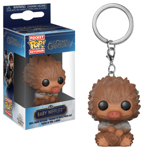 Funko Pop! Keychain - Fantastic Beasts: The Crimes of Grindelwald - Baby Niffler (Brown) - Simply Toys