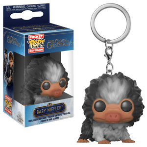 Funko Pop! Keychain - Fantastic Beasts: The Crimes of Grindelwald - Baby Niffler (Striped) - Simply Toys