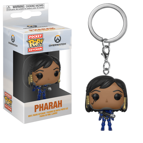 Funko Pop! Keychain - Overwatch - Pharah - Simply Toys