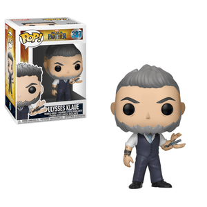 Funko Pop! MARVEL - Black Panther #387 - Ulysses Klaue - Simply Toys