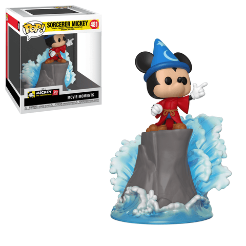 Funko Pop! Movie Moments - Mickey The True Original 90 Years #481 - Sorcerer Mickey (Exclusive) - Simply Toys