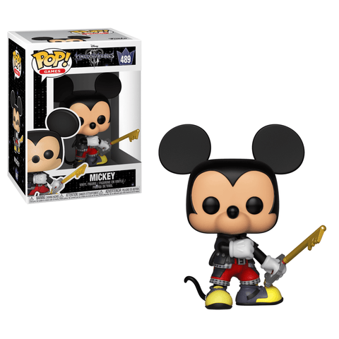 Funko Pop! Games - Kingdom Hearts 3 #489 - Mickey - Simply Toys