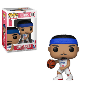 Funko Pop! Sports - NBA: Los Angeles Clippers #49 - Tobias Harris - Simply Toys