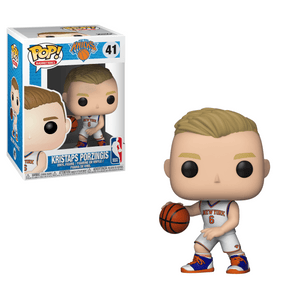 Funko Pop! Sports - NBA: New York Knicks #41 - Kristaps Porzingis - Simply Toys
