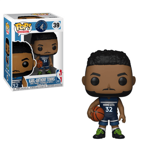 Funko Pop! Sports - NBA: Minnesota Timberwolves #39 - Karl-Anthony Towns - Simply Toys