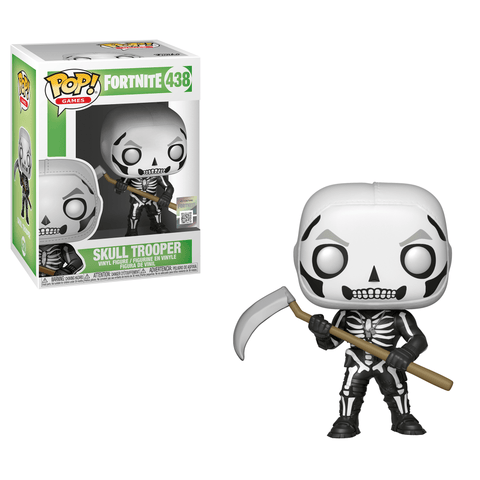 Funko Pop! Games - Fortnite #438 - Skull Trooper - Simply Toys