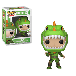 Funko Pop! Games - Fortnite #443 - Rex - Simply Toys