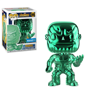 Funko Pop! MARVEL - Avengers: Infinity War #289 - Thanos (Green Chrome) (Exclusive) - Simply Toys