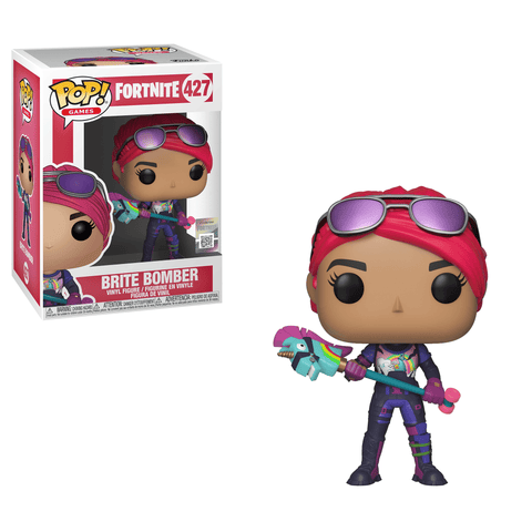Funko Pop! Games - Fortnite #427 - Brite Bomber - Simply Toys