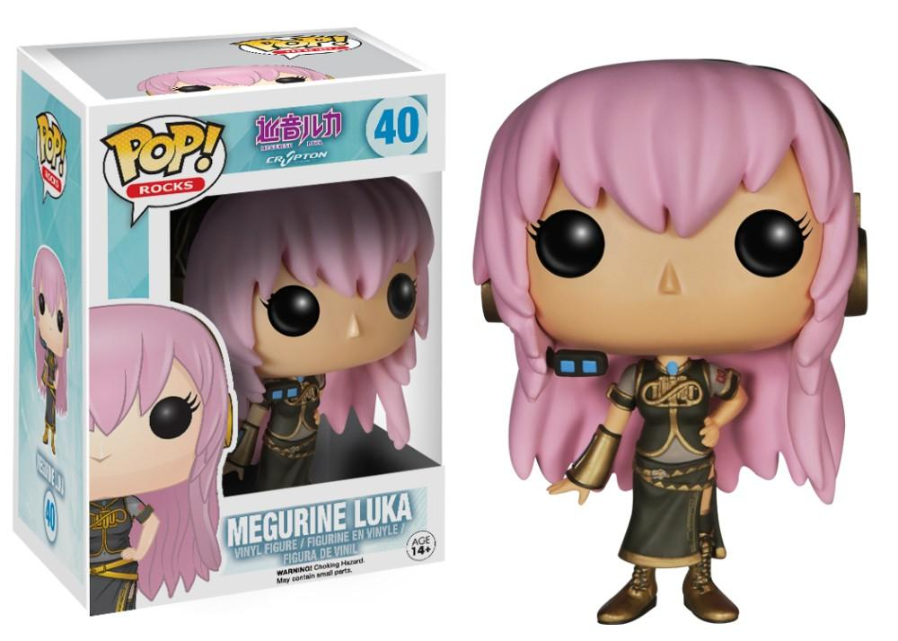 Funko Pop! Rocks - Voicaloid #40 - Megurine Luka *VAULTED* - Simply Toys