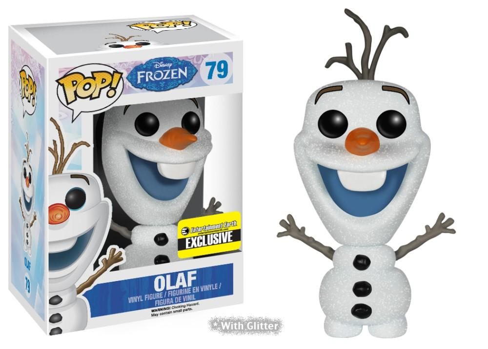 Funko Pop! Movies - Frozen #79 - Olaf (Glitter) (Exclusive) - Simply Toys
