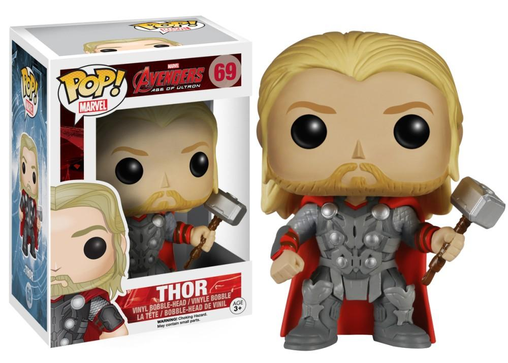 Funko Pop! MARVEL - Avengers: Age of Ultron #69 - Thor - Simply Toys