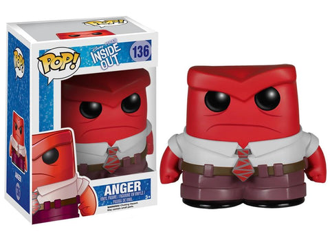 Funko Pop! Movies - Inside Out #136 - Anger - Simply Toys