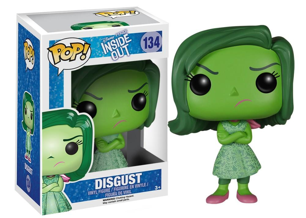 Funko Pop! Movies - Inside Out #134 - Disgust - Simply Toys