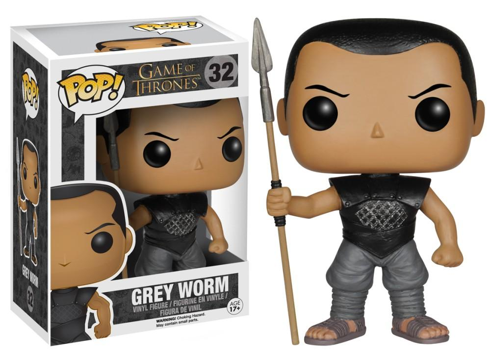 Funko Pop! Television - Game of Thrones #32 - Grey Worm - Simply Toys