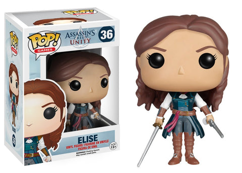 Funko Pop! Games - Assassin's Creed #36 - Elise - Simply Toys