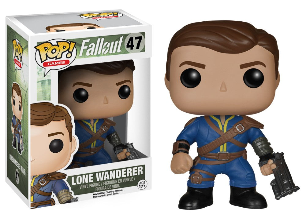 Funko Pop! Games - Fallout #47 - Lone Wanderer (Male) - Simply Toys