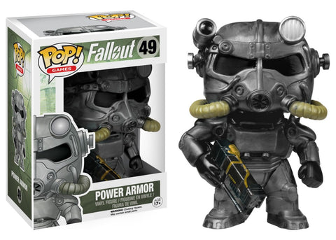 Funko Pop! Games - Fallout #49 - Power Armor - Simply Toys