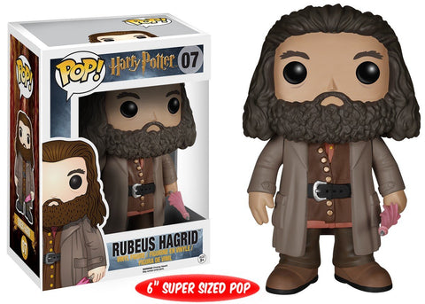 Funko Pop! Movies - Harry Potter #07 - Rubeus Hagrid (6 inch) - Simply Toys
