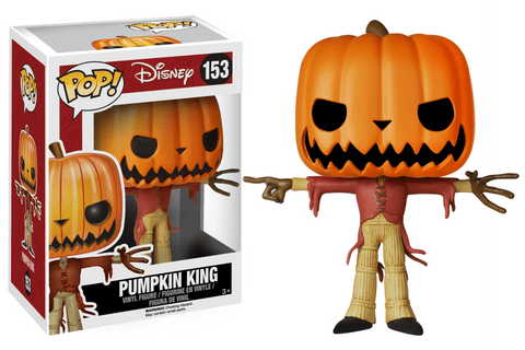 Funko Pop! Movies - The Nightmare Before Christmas #153 - Pumpkin King - Simply Toys