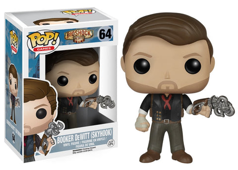 Funko Pop! Games - Bioshock Infinite #64 - Booker DeWitt (Skyhook) - Simply Toys