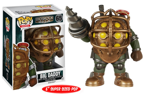 Funko Pop! Games - Bioshock #65 - Big Daddy (6 inch) - Simply Toys