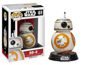 Funko Pop! Movies - Star Wars: Episode VII - The Force Awakens #61 - BB-8 - Simply Toys