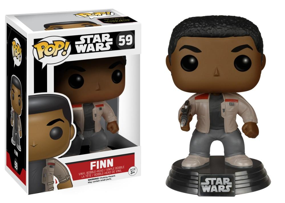 Funko Pop! Movies - Star Wars: Episode VII - The Force Awakens #59 - Finn - Simply Toys