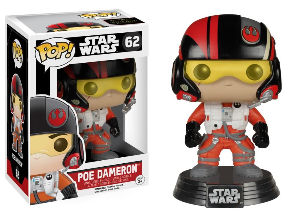 Funko Pop! Movies - Star Wars: Episode VII - The Force Awakens #62 - Poe Dameron - Simply Toys