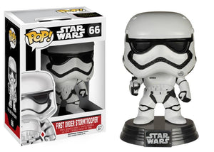 Funko Pop! Movies - Star Wars: Episode VII - The Force Awakens #66 - First Order Stormtrooper - Simply Toys