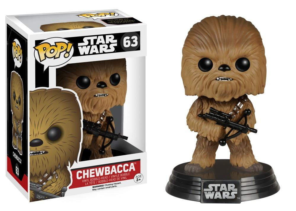 Funko Pop! Movies - Star Wars: Episode VII - The Force Awakens #63 - Chewbacca - Simply Toys