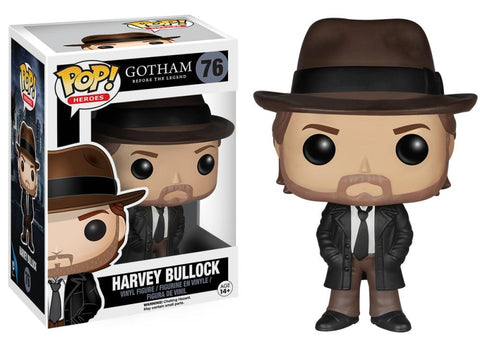 Funko Pop! Television - Gotham #76 - Harvey Bullock *VAULTED* - Simply Toys